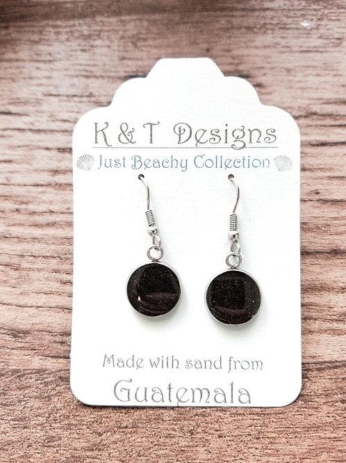 Guatemala Beach Sand Dangle Earrings