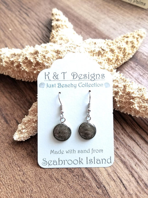 Seabrook Beach Sand Dangle Earrings
