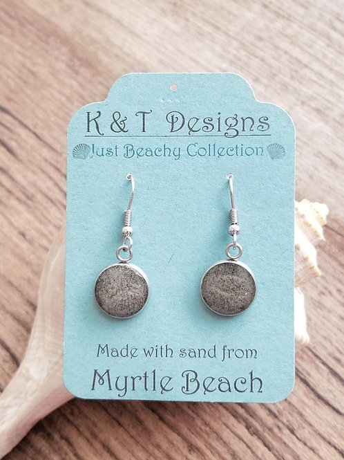 Myrtle Beach Sand Dangle Earrings