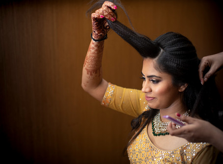 Candid Wedding Photography : Getting Ready Shots