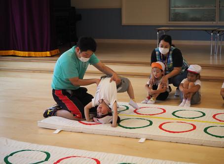 体操教室始まりました
