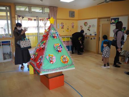 クリスマス作品展を開催しました