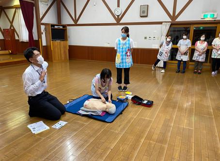 AED研修をしました