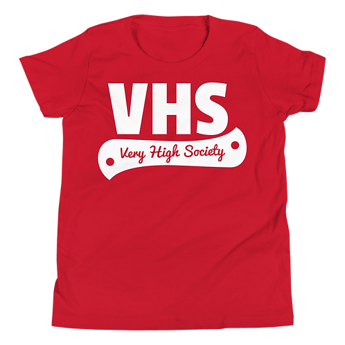 VHS Kids Tee (Red/White)