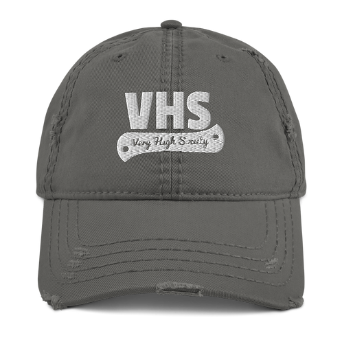 VHS Distressed Dad Hat
