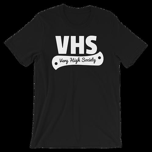 VHS Tee (Black/White)