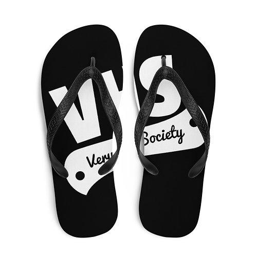 Black/White VHS Flip Flops