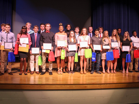 Local student-athletes honored by HOF at annual Ambassadors Event