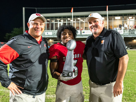 Glynn's Grant named GA-BHS Football Player of Game by Hall of Fame