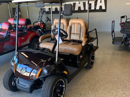 XL Golf Carts sponsoring Hole-in-One giveaway at Hall of Fame Golf Classic