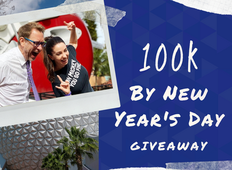 100K By New Year's Day Giveaway!