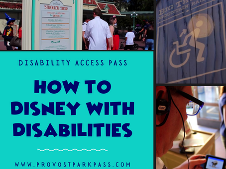 DISNEYLAND DISABILITY ACCESS PASS   HOW TO GO TO DISNEYLAND WITH A DISABILITY