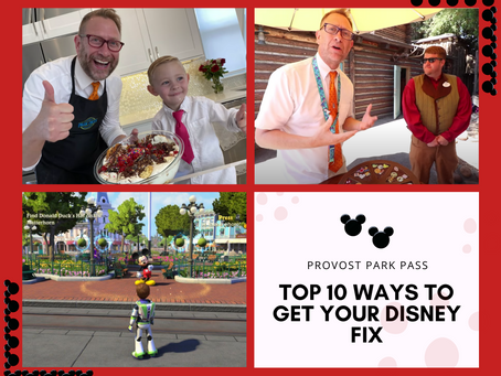 Top 10 Ways to Get Your Disney Fix