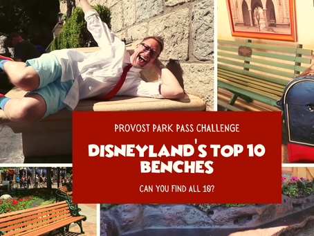 PROVOST PARK PASS CHALLENGE: TOP 10 BENCHES