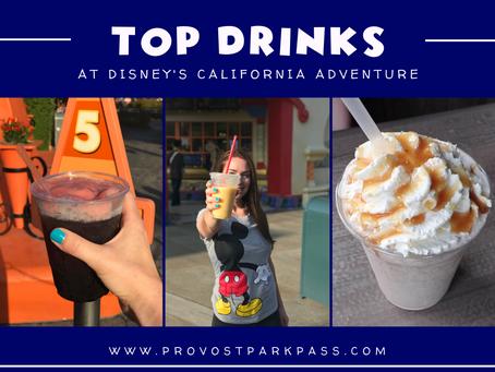DISNEY CALIFORNIA ADVENTURE TOP DRINKS!!