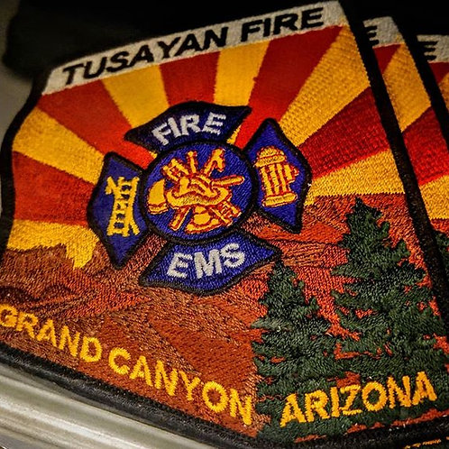 Tusayan Fire District Patches