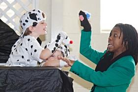 Dalmatians puppet show