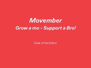Grow a Mo - Support a Bro!
