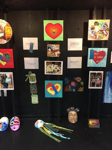 Made For You Expressive Art Workshop Participants' Art