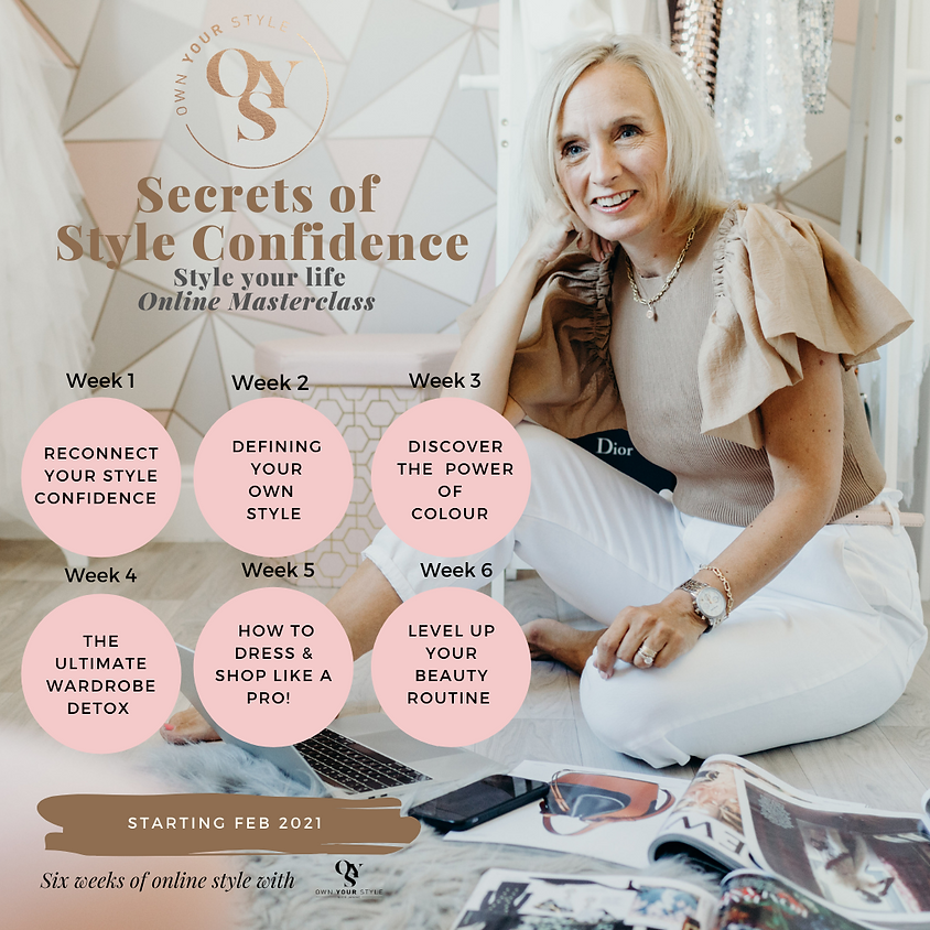 6 Secrets of Style Confidence - Style your Life confidently!
