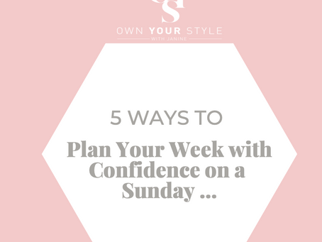 Plan your week ahead with confidence