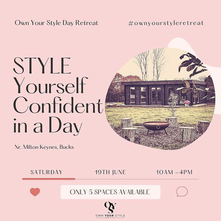 SOLD OUT - Style Yourself Confident in a Day