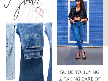 ⁠⁠How to choose and take care of the perfect pair of jeans!