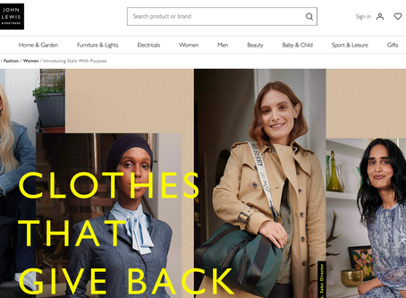 John Lewis - Clothes that Give Back!