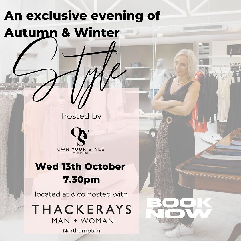 An exclusive evening of Style