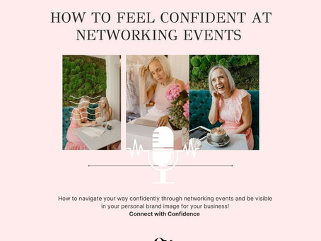 How to increase your confidence for Networking Events !