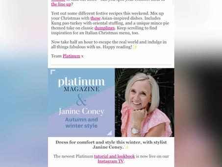 Platinum Magazine - Exclusive Style Video with Janine