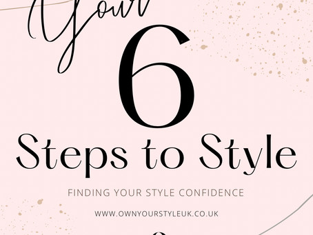 Your 6 Steps to Style!