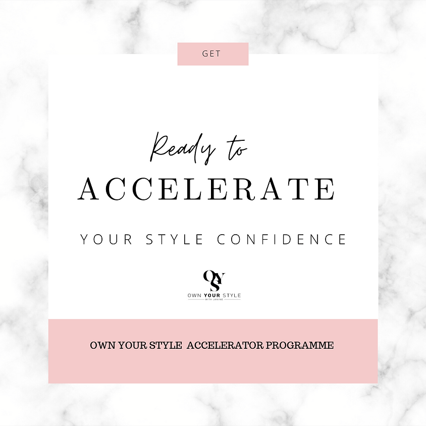 Own Your Style Accelerator Programme
