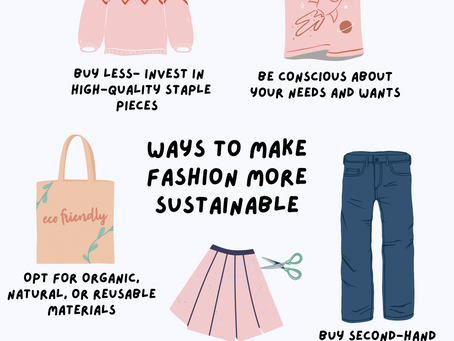 Make your fashion more sustainable…