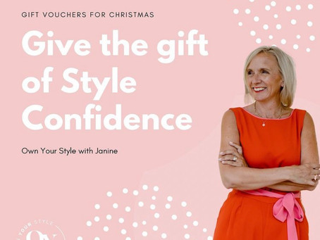 The gift of style confidence ...