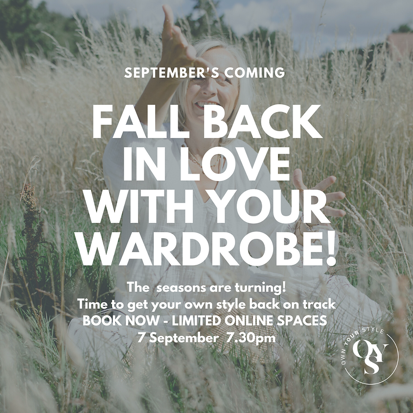 Fall back in love with your wardrobe this September!