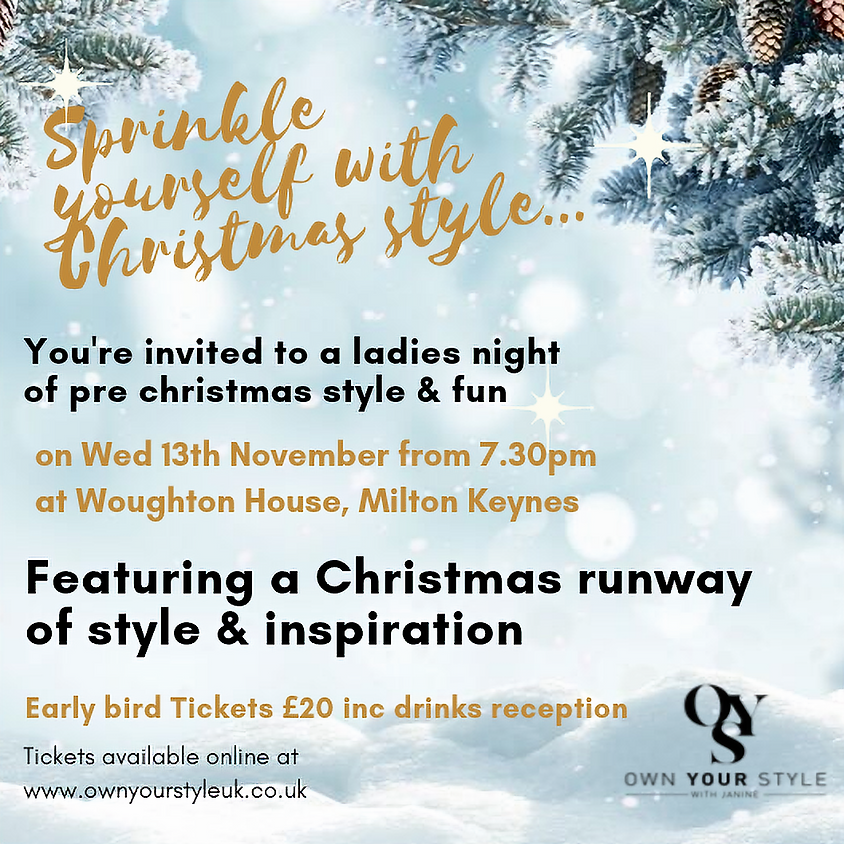 Own Your Style Pre Christmas Celebration