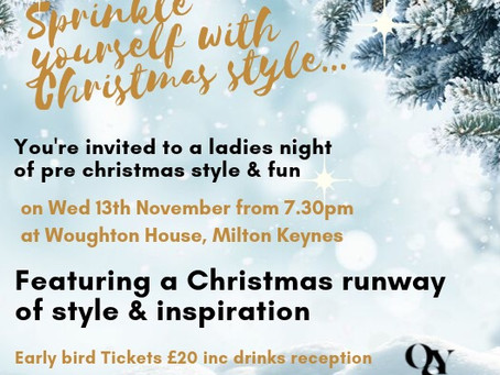 News - Pre Christmas Style event tickets selling fast..