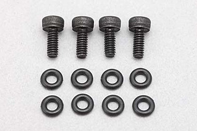 "Yokomo Offroad ""X"" Ver. II Shock Aluminum Cap Drain Screw/O Ring"