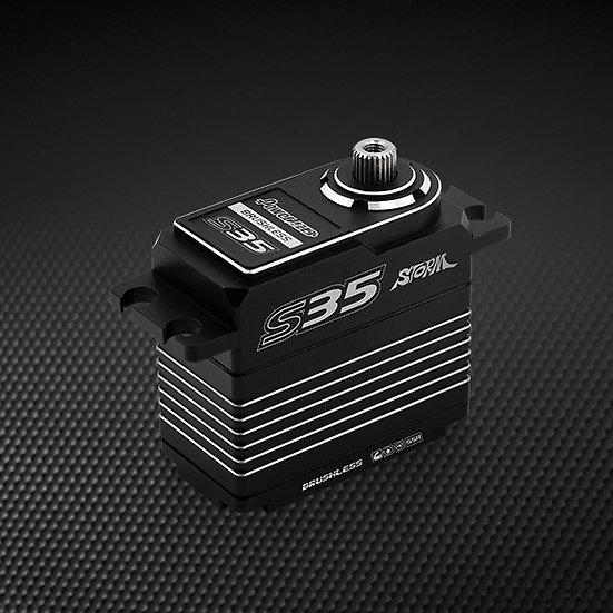 Power HD S35 - Silver HIGH TORQUE HV Brushless Servo