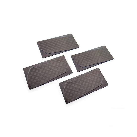 RC MAKER GeoCarbon Wing Endplates (4pcs)