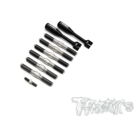 TWORKS Titanium Turnbuckle Set - Serpent SRX8GTE