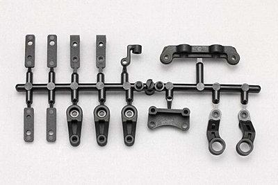 YZ-2DTM3/CAL3 Steering Bell Crank/Servo Horn/Servo Mount