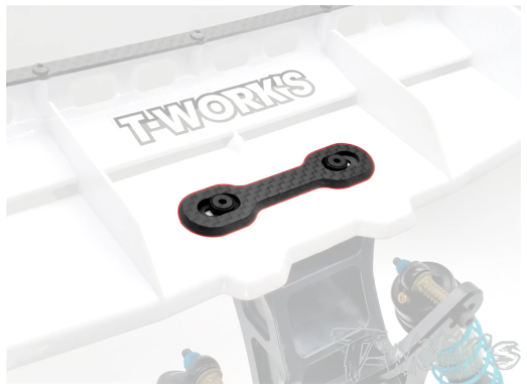 T-Work's 1/8th Buggy Graphite Wing Support