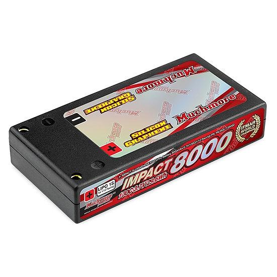Muchmore IMPACT [Silicon Graphene] FD4 Li-Po Battery 8000mAh/3.7V 130C Hard Case