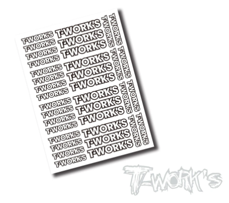 T-Work's FACTORY Team White Decal C