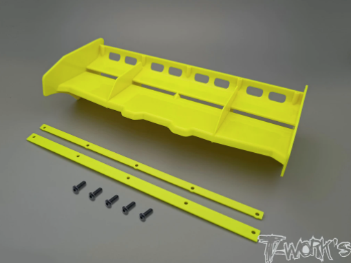TWORKS 1/8 Airflow Buggy Wing - Yellow