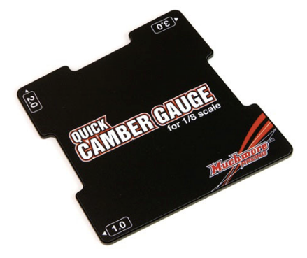 Muchmore Quick Camber Gauge <1.0,2.0,3.0 Angles> for 1/8 Buggy cars
