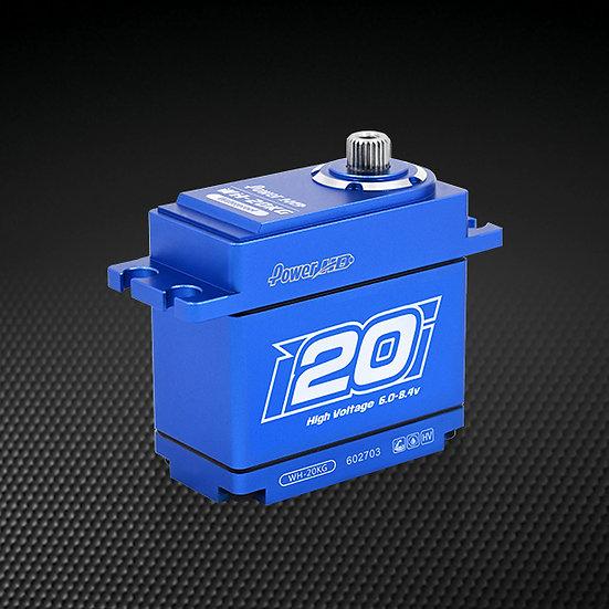 Power HD WH20 - WATERPROOF HV Coreless Servo