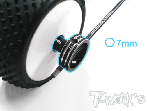 T-Work's 7mm Short Nut Driver